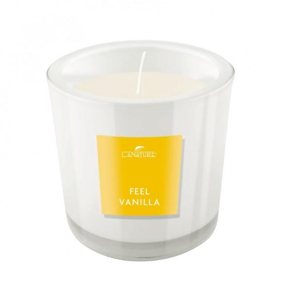 Candle Madagskar Vanilla 10*10cm handgjorda doftljus