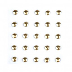 Studs Sticker Gold Circle