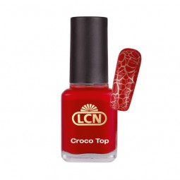 Nagellack Croco Top Red Rescue