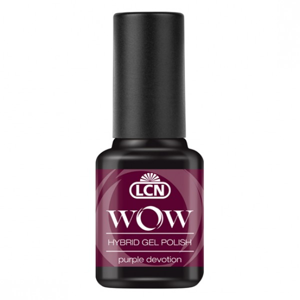 WOW Hybrid Gel Polish - Purple Devotion 8ml