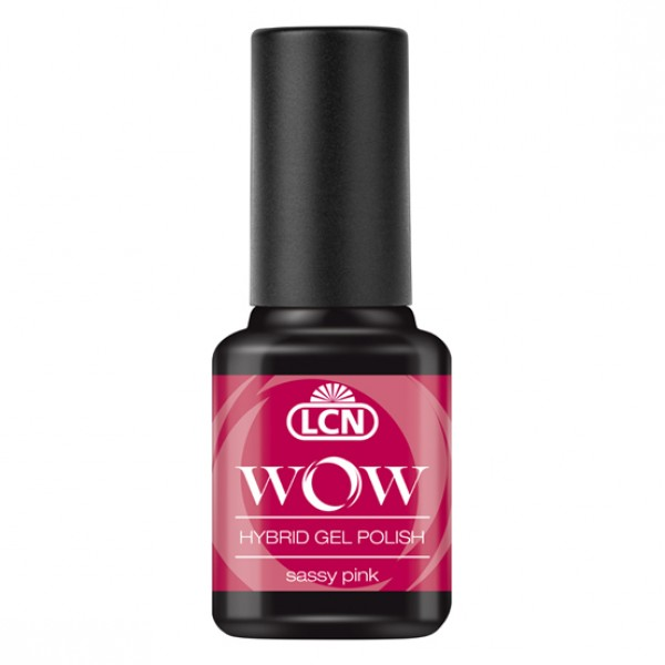 WOW Hybrid Gel Polish - Sassy Pink 8ml