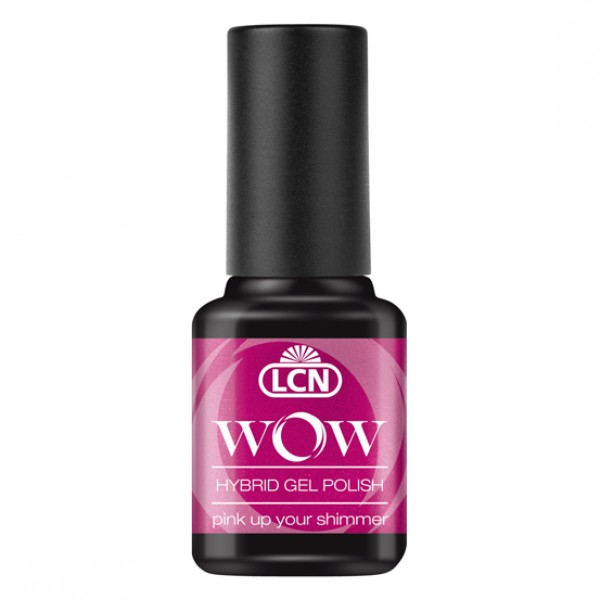 WOW Hybrid Gel Polish - Pink Up Your Shimmer 8ml