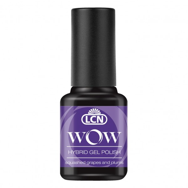 """WOW Hybrid Gel Polish - """"squashed grapes and plums""""8ml"""