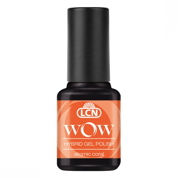 WOW Hybrid Gel Polish - Atomic Coral NEON 8ml
