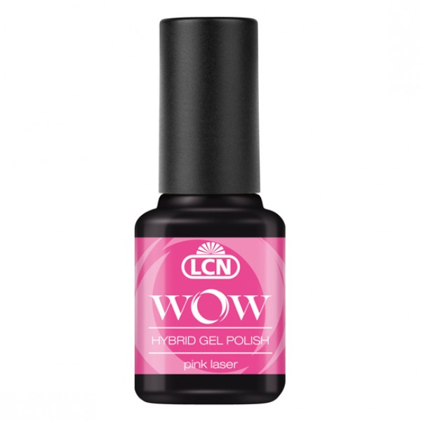 WOW Hybrid Gel Polish - Pink Laser NEON 8ml