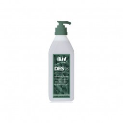 Handdesinfektion LIV 75 % 600 ml med pump