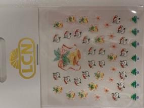 X-Mas Nail Sticker Santa Claus