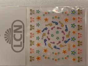 3D Nail Sticker winterstar